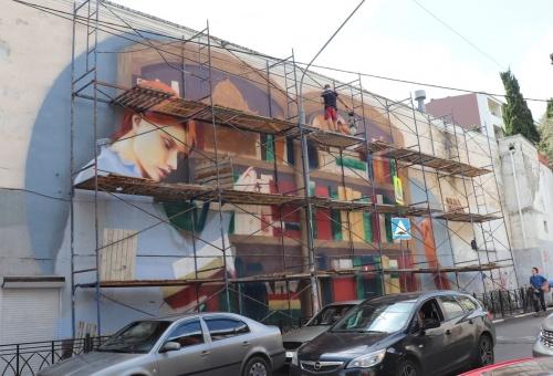 Ялту украсит еще один стрит-арт объект