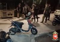 В Ялте группа подростков нарушала общественный порядок в ночное время. Полиция навела порядок