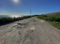 Дорога к крепости Ени-Кале в Керчи стала еще проблематичнее