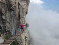 Спортсмены Ялтинской Федерации дзюдо изучили новый туристический маршрут «Небесную тропу»