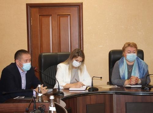 В администрации Керчи провели встречу с жителями домов, подлежащих расселению вследствие подтопления