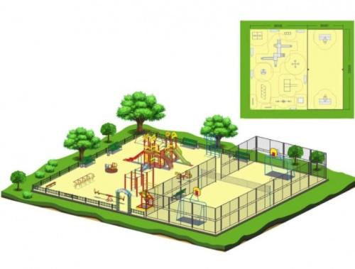 Бизнесмены установят в Симферополе 25 детских и спортивных площадок за свой счет