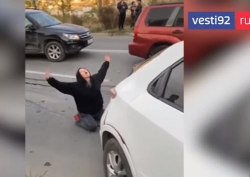 В Севастополе студентка устроила массовое ДТП