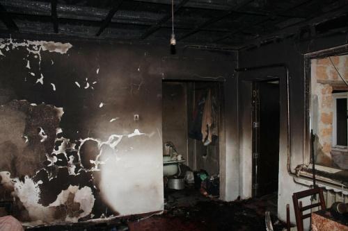 Тело мужчины нашли на пожаре в частном доме под Симферополем