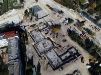 «Новый Херсонес» продолжают заливать бетоном