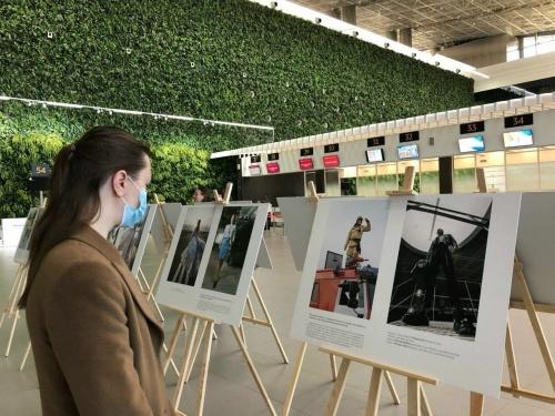 Сотрудники аэропорта Симферополя приняли участие в съёмке для fashion-журнала