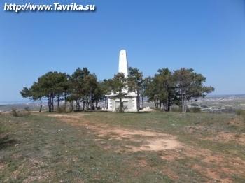 Братская могила воинов 318-й Новороссийской стрелковой дивизии