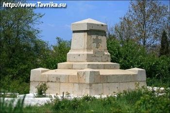 Памятник на месте гибели Истомина В.И.