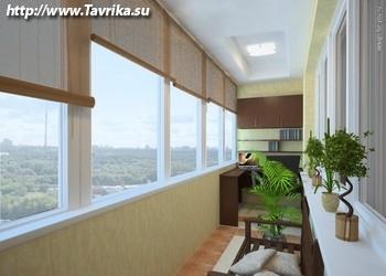 Балконы и лоджии под ключ профессионально