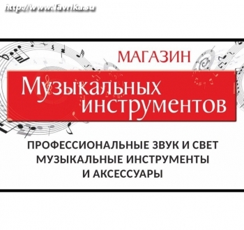"""Магазин музыкальных инструментов """"Музыкальный мир"""""""