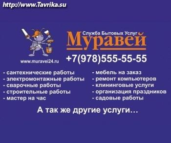 """Служба бытовых услуг """"Муравей"""""""