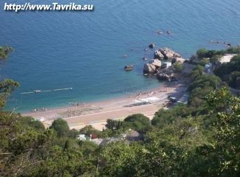 Пляж базы отдыха подводников