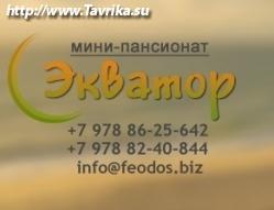 "Кафе с мини-пансионатом ""Экватор"""