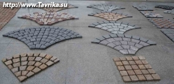 Завод тротуарной плитки и декоративного камня