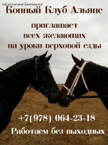 """Конный Клуб """"Альянс"""""""