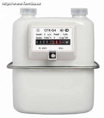 Оптовая и розничная продажа газовых счетчиков