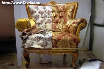 """Компания по реставрации и перетяжке мягкой мебели """"12 стульев"""""""