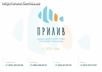 """Агентство интернет рекламы """"Прилив"""""""