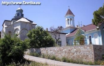 """Церковь """"Преображения Господня и святой Нины"""""""