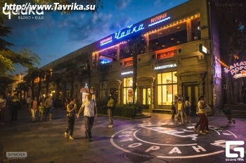"""Панорамный ресторан """"Чайка"""""""
