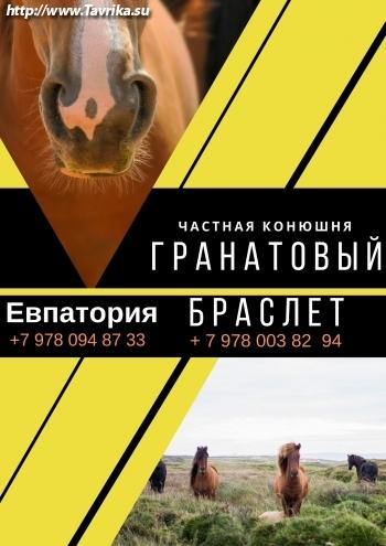 """Частная конюшня """"Гранатовый Браслет"""""""