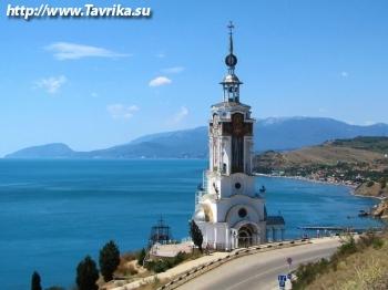 Храм маяк св. Николая Чудотворца
