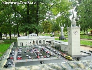 """Бахчисарайский парк """"Крым в миниатюре на ладони"""""""