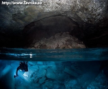 """Подводная пещера """"Легенда"""""""