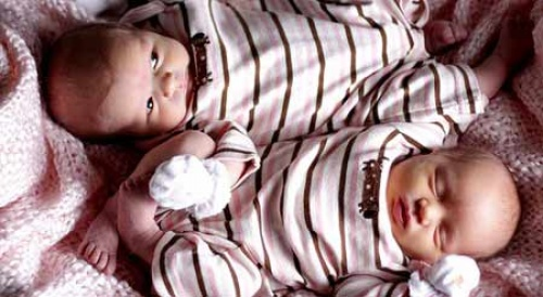 Двойняшки в животике фото