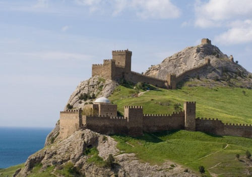 В Украине создадут трехмерную панораму Генуэзской крепости