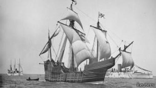 Ученый из США полагает, что нашел знаменитый корабль Колумба