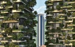 Итальянцы построят первый в мире вертикальный лес