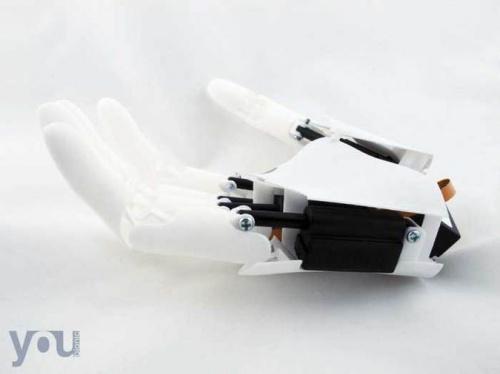 В Италии на 3D-принтере отпечатана бионическая рука