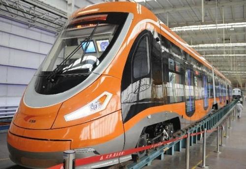 В Китае запустили трамвай на водородных батареях