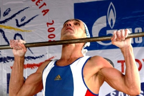 Сибиряк установил новый рекорд мира в подтягивании