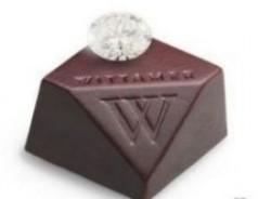 Бельгийцы изготовили конфетку за $240 000: бриллиант в оправе из шоколада