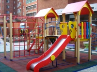 Алуштинские власти установят в микрорайонах города 13 детских площадок