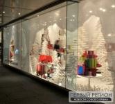 В Евпатории проводится городской конкурс на лучшую новогоднюю витрину
