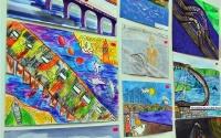 В Керчи открылась выставка детских работ «Я – строитель Керченского моста»