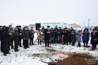 В Исмаил-бее заложили капсулу на месте будущей школы и детского сада