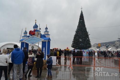 Ялта и Алушта стали лидерами Крыма по количеству туристов на новогодние праздники