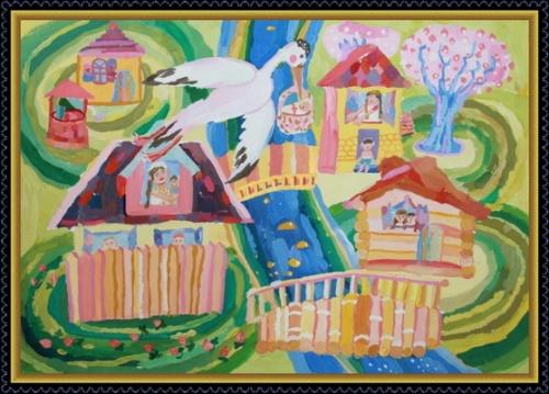 В Керчи открылась выставка детских картин