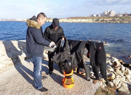 Херсонес получил подводное оборудование для исследования гавани заповедника