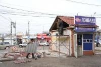 В Симферополе возле Центрального рынка снесли незаконные постройки