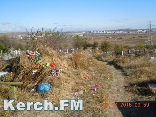 В Керчи в этом году на уборку кладбищ потратят больше 3 млн руб