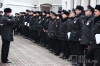 У ялтинских полицейских начался новый учебный год