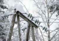 Почти три десятка населённых пунктов Крыма остались без электричества из-за непогоды