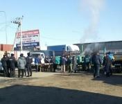 В порту «Кавказ» развернули полевую кухню для дальнобойщиков