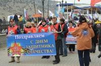 19 февраля «моржи» города-героя Севастополя принимали друзей