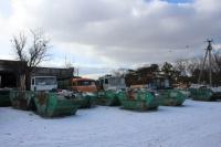 На свалке под Симферополем простаивают 50 контейнеров для мусора